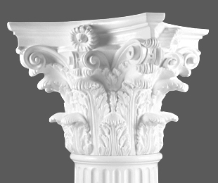 Corinthian Capital Column