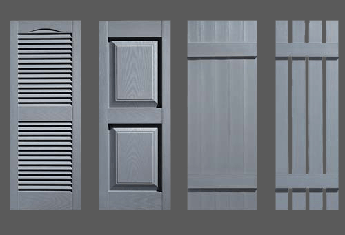 Storm Gray Shutters