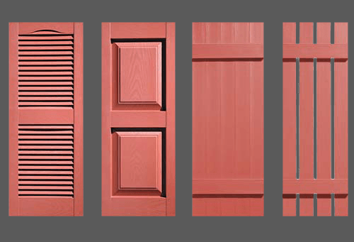 Brick Red Shutters