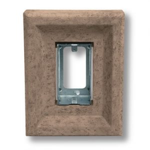 Taupe Receptacle Stone