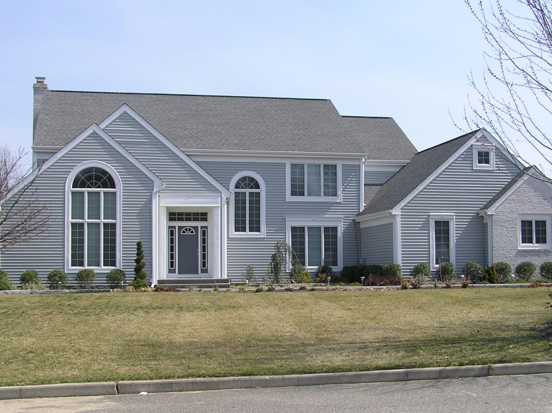 Residential gallery alpha windows siding for Grey vinyl siding colors
