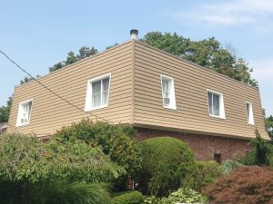 Commercial Building Siding Project in Dix Hills