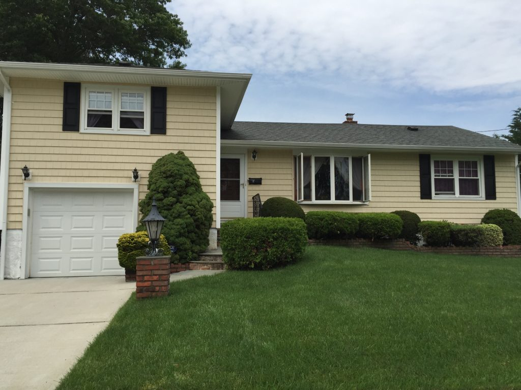 Siding massapequa alpha vinyl siding massapequa ny for Split level project homes