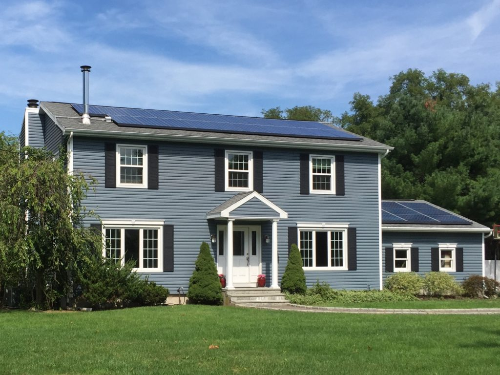 Harbor Blue Siding and Windows in East Moriches