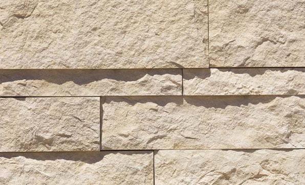 Cut Coarse Stone - Oyster