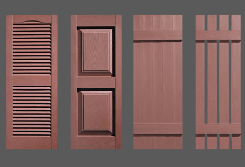 Coffee Brown Shutters