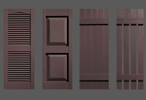 Musket Brown Shutters