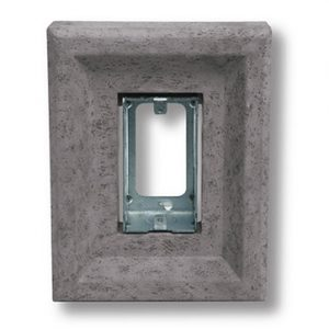 Gray Receptacle Stone