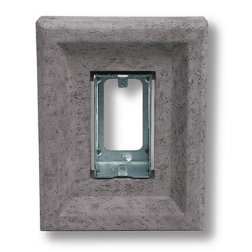 Gray Receptacle Stone