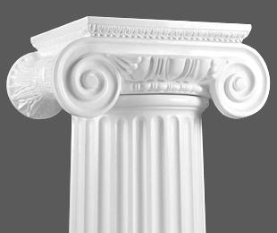 Ionic Capital Column