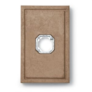 Mocha Light Fixture Stone