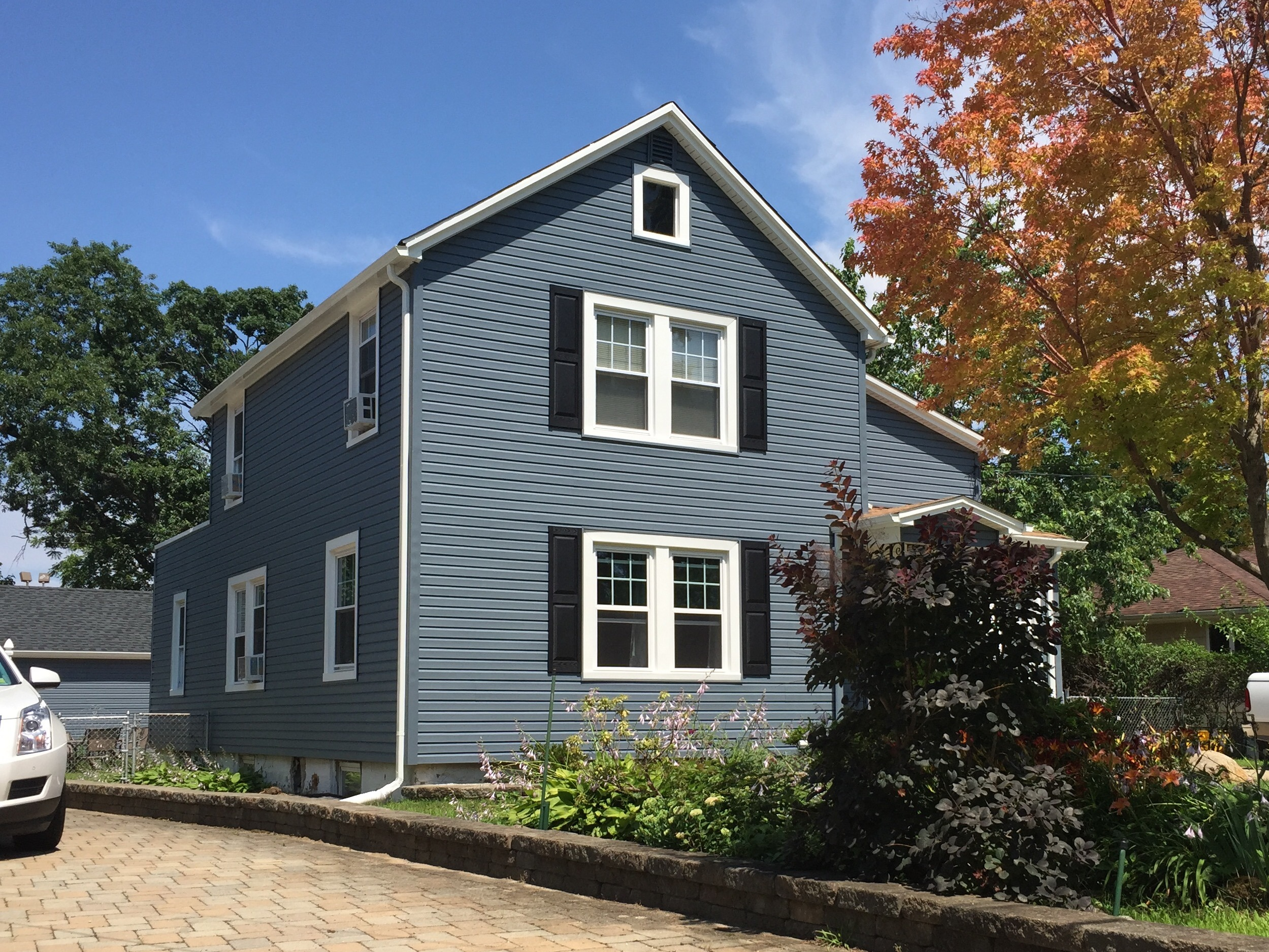 Harbor Blue Siding Alpha Harbor Blue Vinyl Siding